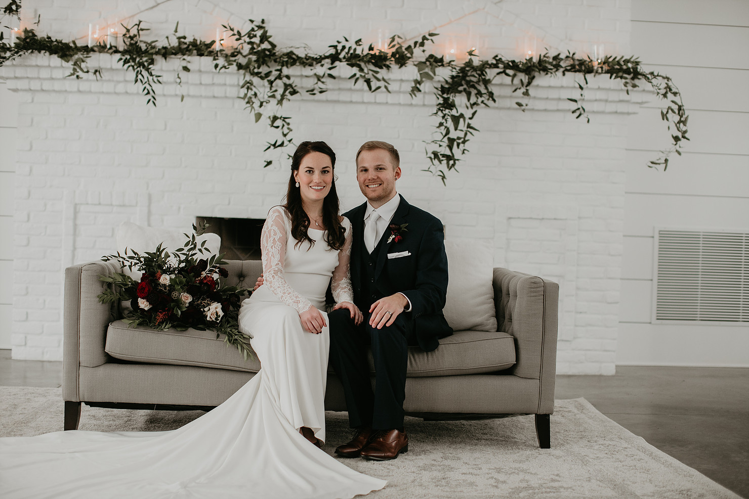 Katie & Alex Married 12/08/18 at The Hutton House | Photography by    Sophisticated Grace