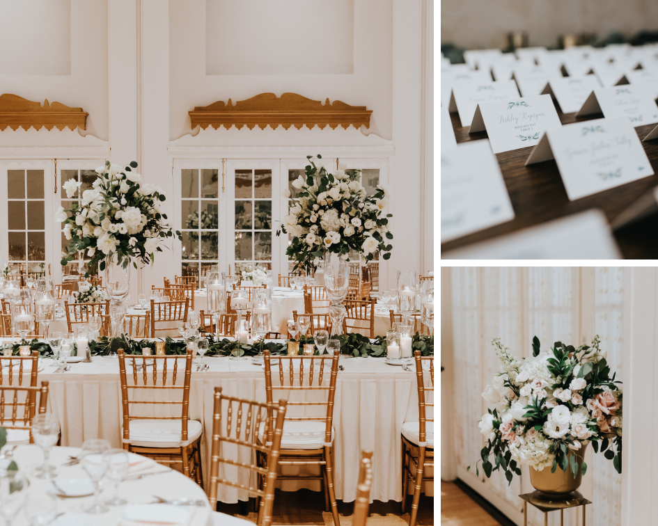 Wedding at Lafayette Club, Wedding Planner