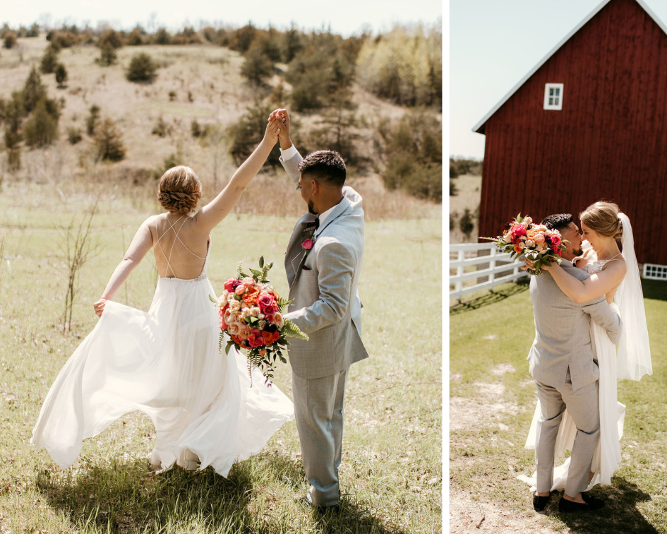 almquist farms bright wedding
