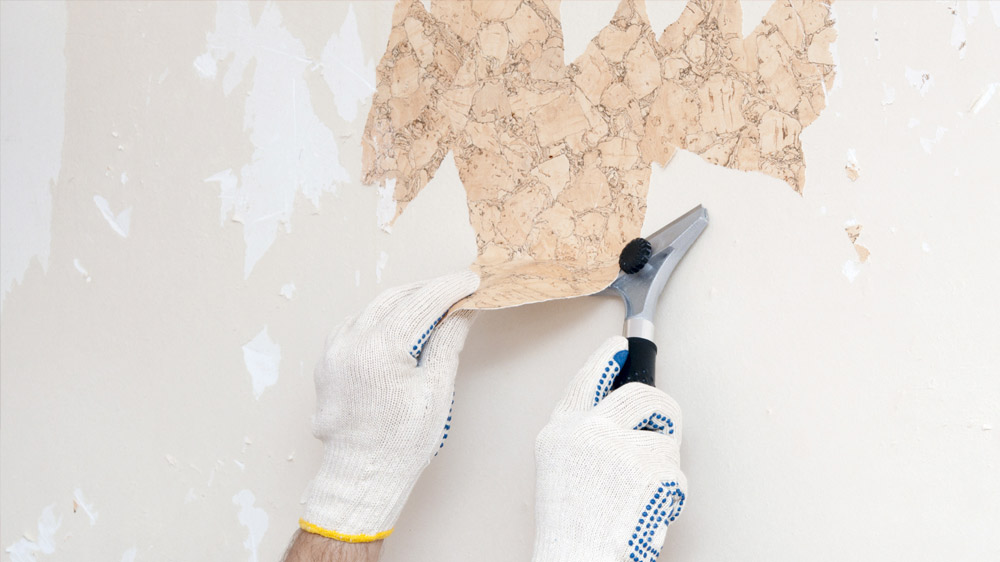 Wall Paper Removal -
