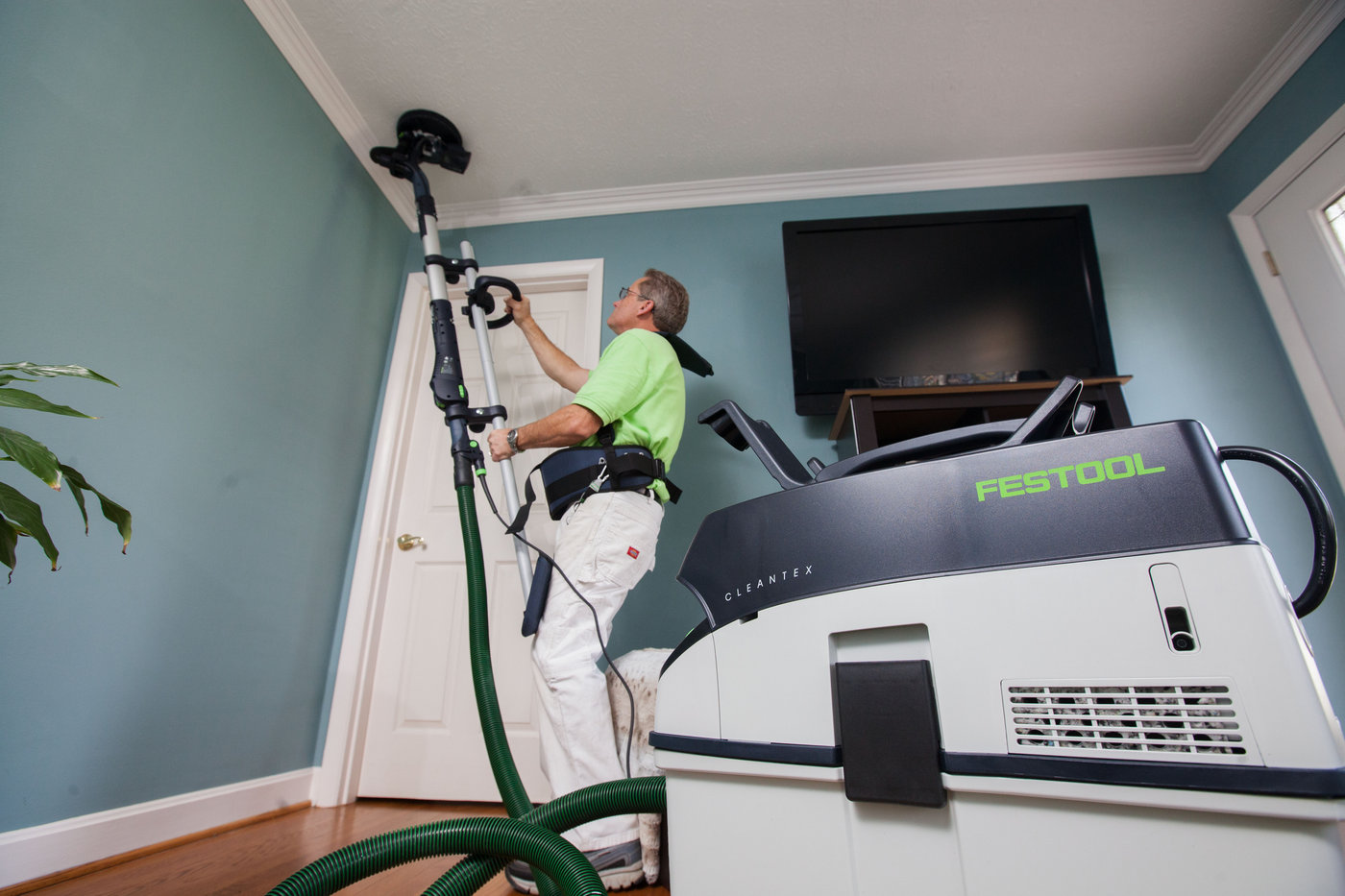 THE FESTOOL - We strongly believe that quality work requires QUALITY TOOLS. That is why we have invested in the Festool - An amazing device that has been tried and true over the years. We are better equipped for all of your restoration needs and you can be assured that we are invested in YOUR satisfaction as one of our clients.