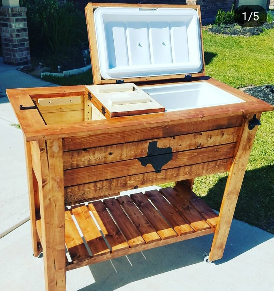 Ice chest holder