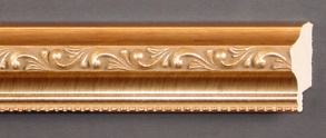 "25-102  -  1 3/8"" Gold Ornate"