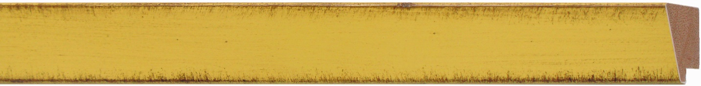 "805-205    -      1 3/8"" Golden Yellow Distress Slant"