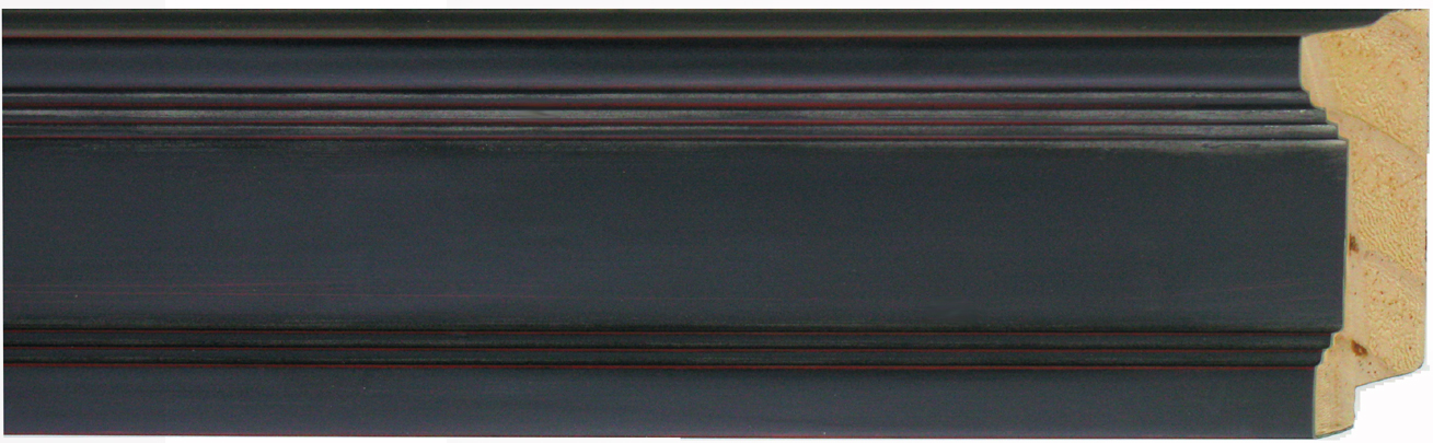 "1375-80     -   2 ¼"" Black Rubbed Red Edge Panel"
