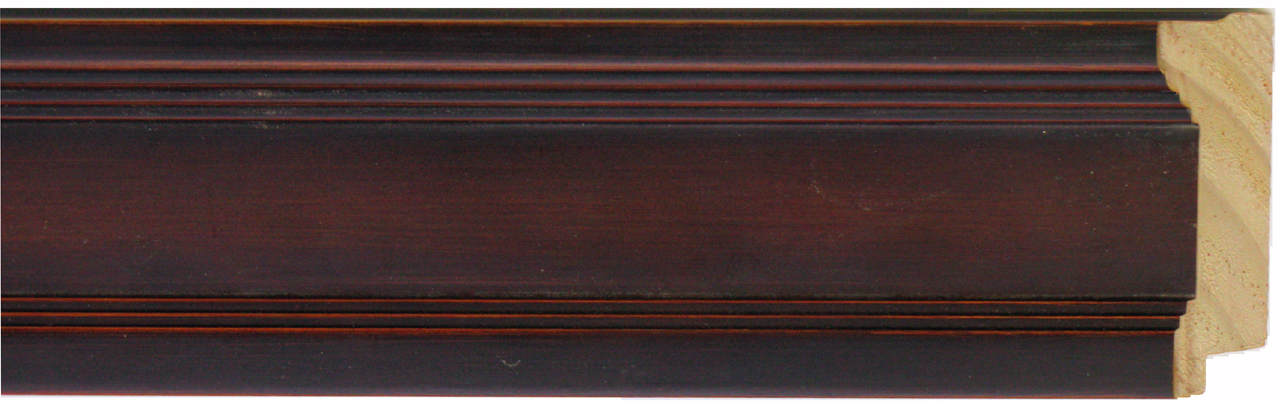 "1375-85        -               2 ¼"" Shaded Walnut Fed. Panel"