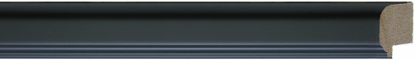 300-445        -   Black, Notched Rolled Edge