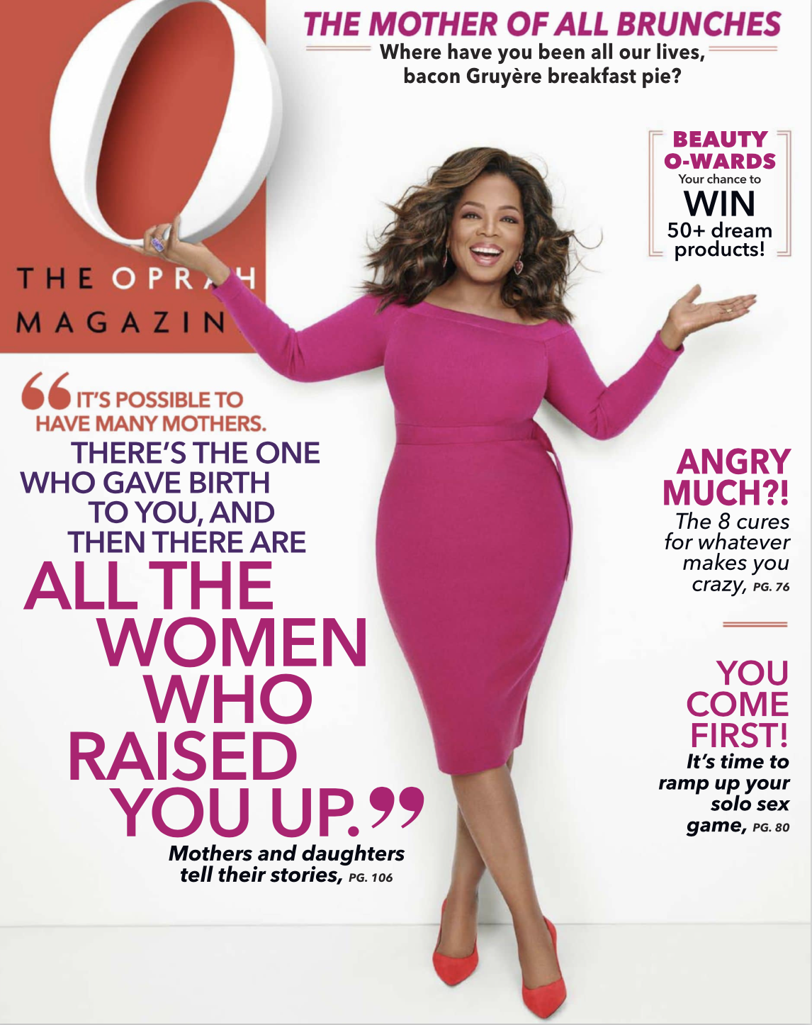 MAY 2019 OPRAH MAG ISSUE