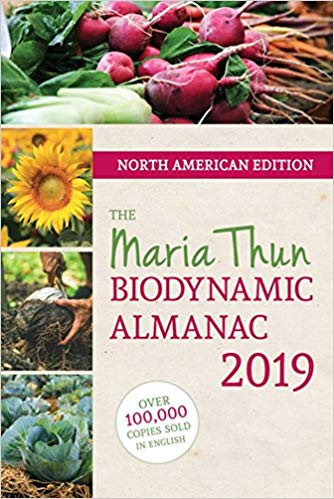 The Maria Thun Biodynamic Almanac 2019 - North American Edition