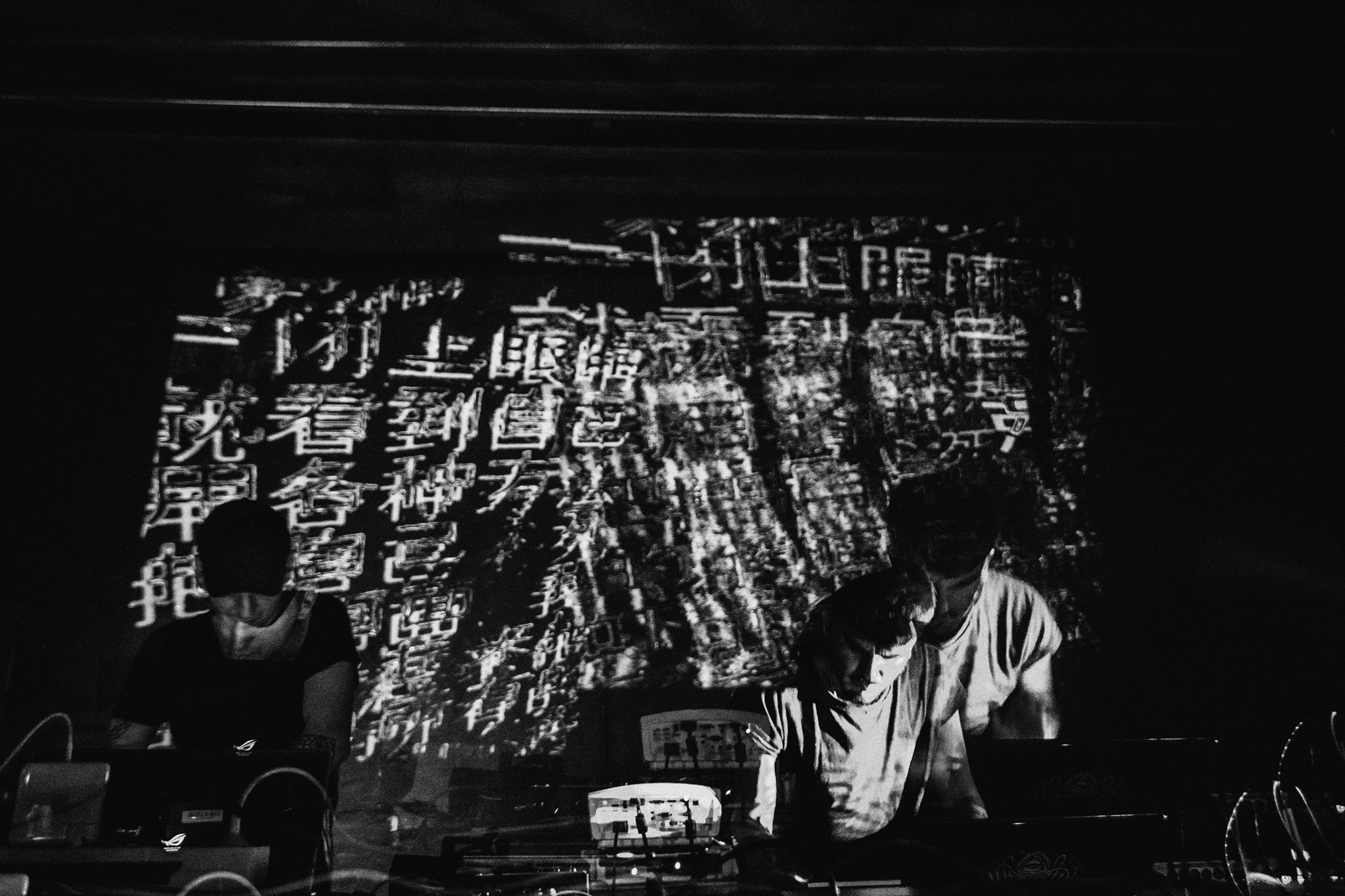 TEOREMA - BARCELONA - Performance with SQUARIC live