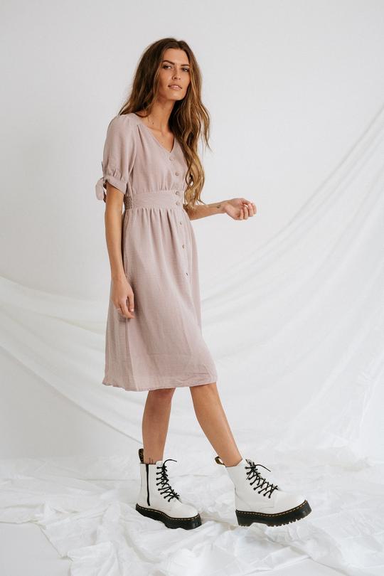 Image Via Coco McCall Shop   https://cocomccallshop.com/collections/dresses/products/lavender-lady-midi-dress