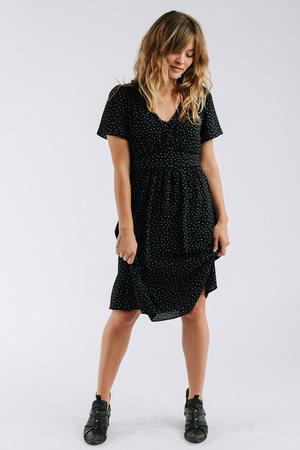 Image via Clad and Cloth   https://cladandcloth.com/collections/dresses/products/the-dottie-dress