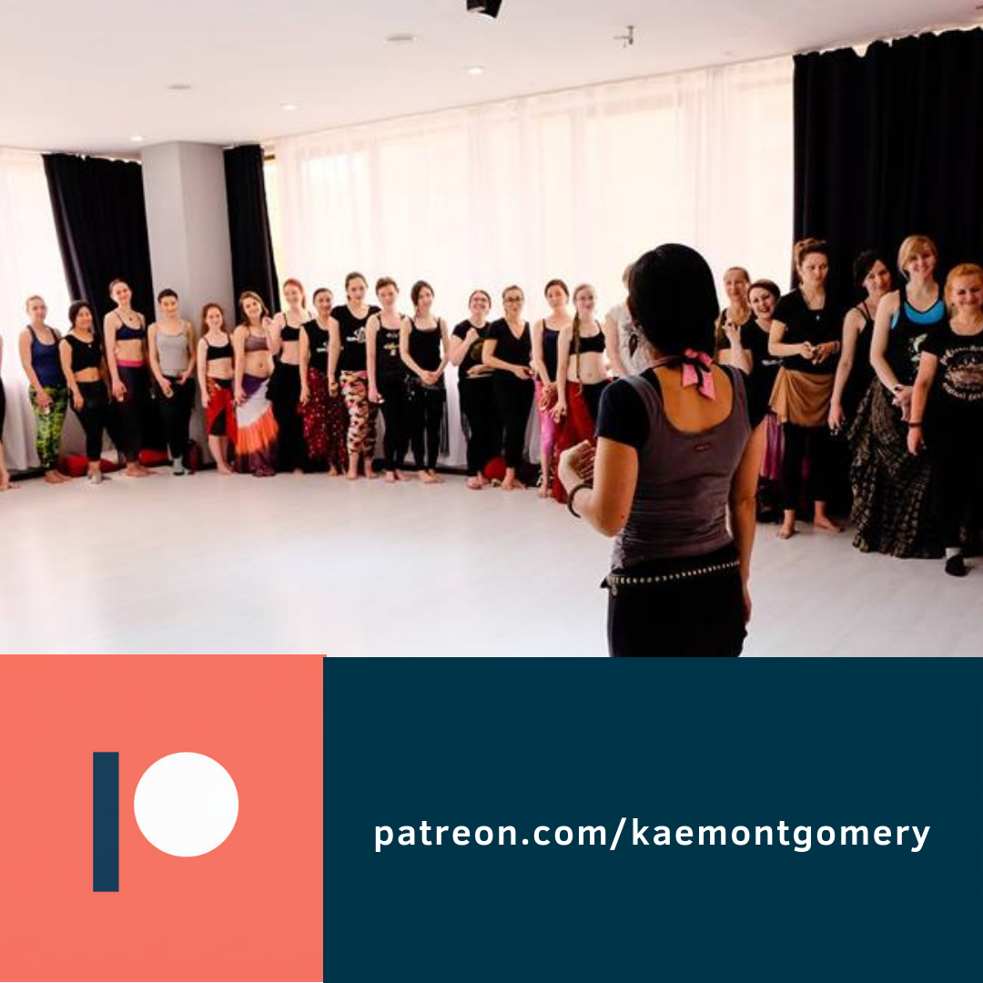 Join Kae's Patreon page to dance, sweat, and laugh together while directly supporting your favorite artist!