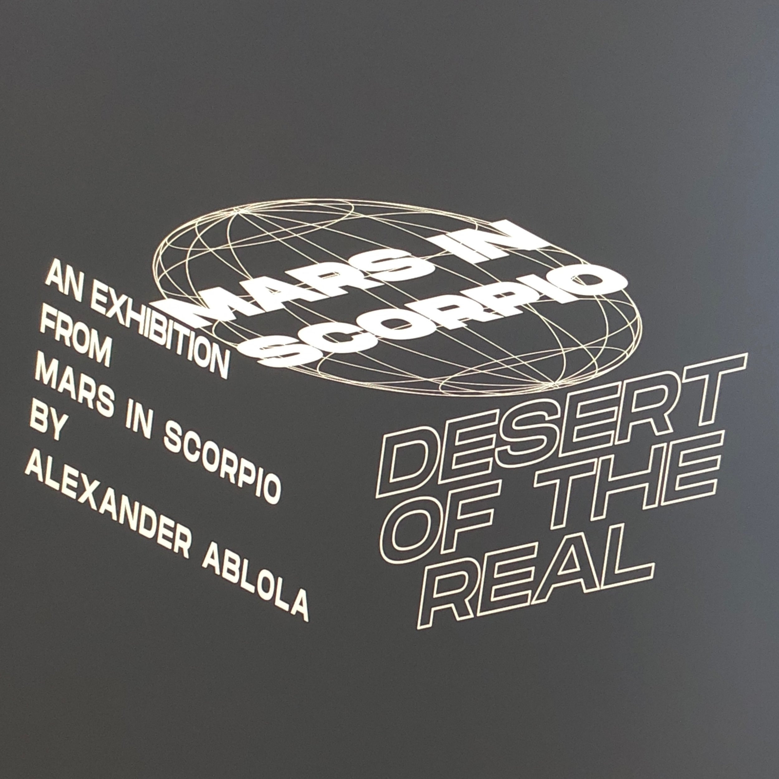 Desert of The Real - Mars in ScorpioSeptember 5 — October 19, 2019
