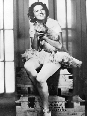 Zelda Fitzgerald: dancer, bad-ass, wife to F. Scott  photo credit:  http://www.encyclopediaofalabama.org/article/h-1120