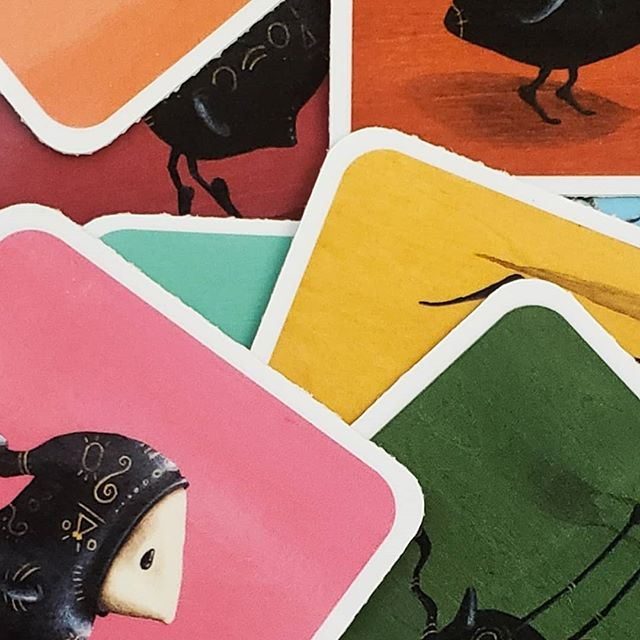 There will be stickers of your favorite birds available @thebigcrafty this Sunday! ⠀⠀⠀⠀⠀⠀ ⠀⠀⠀⠀⠀⠀⠀⠀⠀⠀⠀⠀ #nicholaspecoraro #horseandhero #bigcrafty #avlartist #avlart #avlartists #donutmonster #828isgreat #ashevillegallery #asheville #acryliconwood #popsurreal