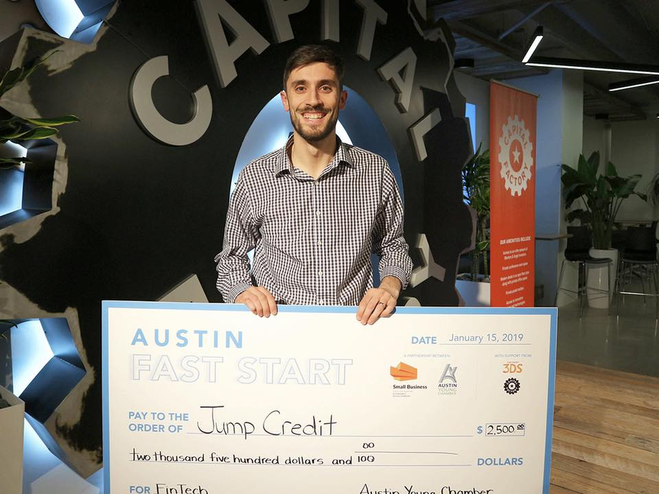 It's not a real pitch competition without a giant check ;)