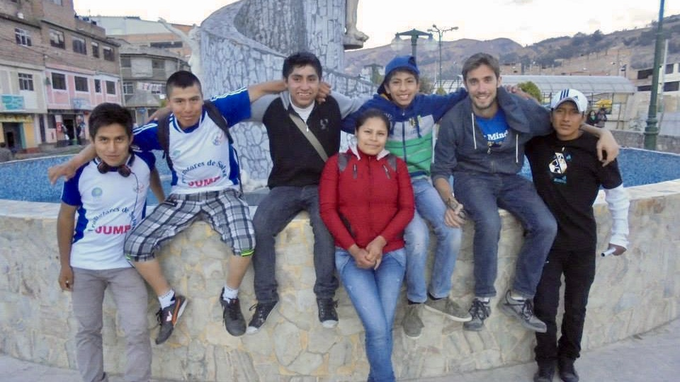 Visiting a few of the original members of the Jump Youth Group in 2015 in Huaraz, Perú