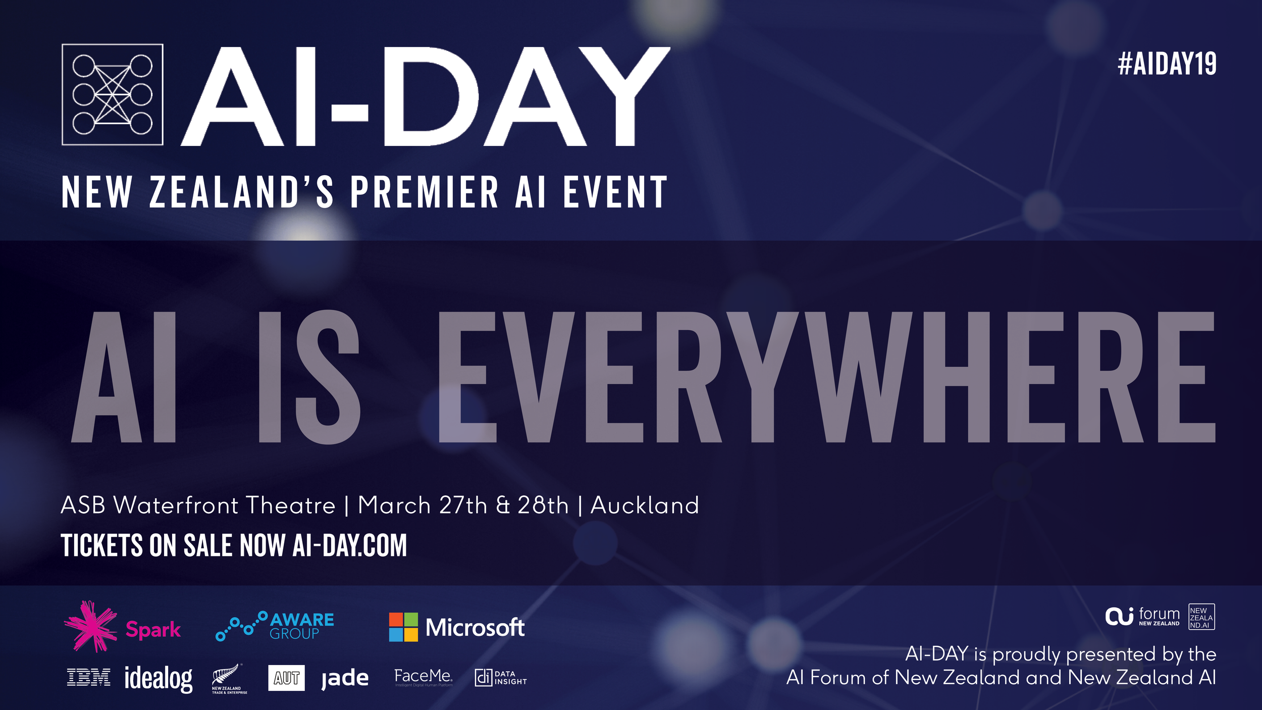 AI-DAY - New Zealand's Premier AI EventMarch 27th & 28th | ASB Waterfront Theater. Auckland was proudly sponsored by Data Insight.Click here to watch the videos