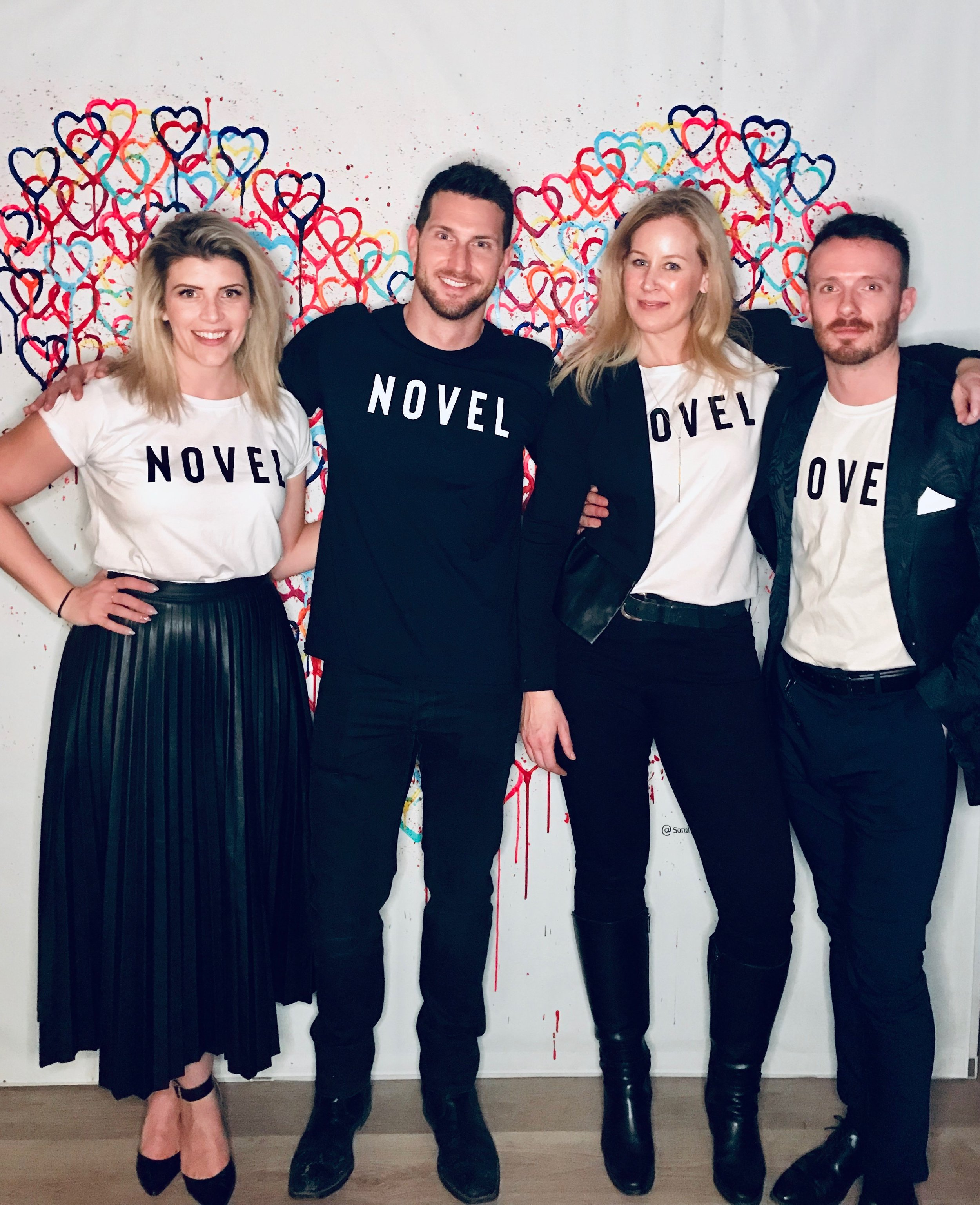 Novel Crew at Lavelle