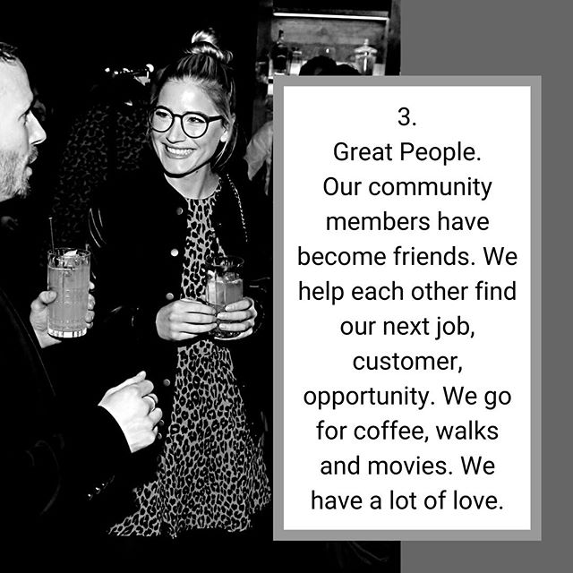 """✖️COMMUNITY✖️ . On Day 3 of the endless list of reasons you should absolutely join our #novelevenings book club, comes down to our PEOPLE. . We bond. Quickly. More than half of those who have joined us have come on their own, with no connection to anyone else, aside from maybe an IG one. It's true. And pretty freaking incredible. . We love meeting new people. We love conversation that doesn't begin with """"and what do you do?"""". We get to know you for YOU. We show our vulnerabilities, and we support each other. . And then we do many things together beyond our book club. We support each others businesses, extra-curriculars, creative outlets. We go for coffee, walks, hang out in parks, see the latest movie. . Join us. May 29. Sign up for details at novelevenings.com (link in bio). Tickets on sale on Saturday at 10am! . 🖤 Your Novel Crew 📷: @courtney.alexander.photography"""