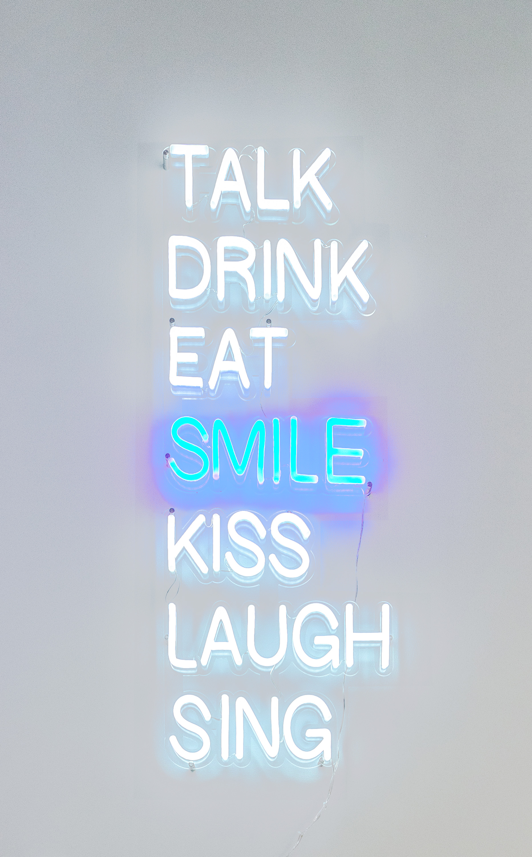 The Smile Space Neon Sign