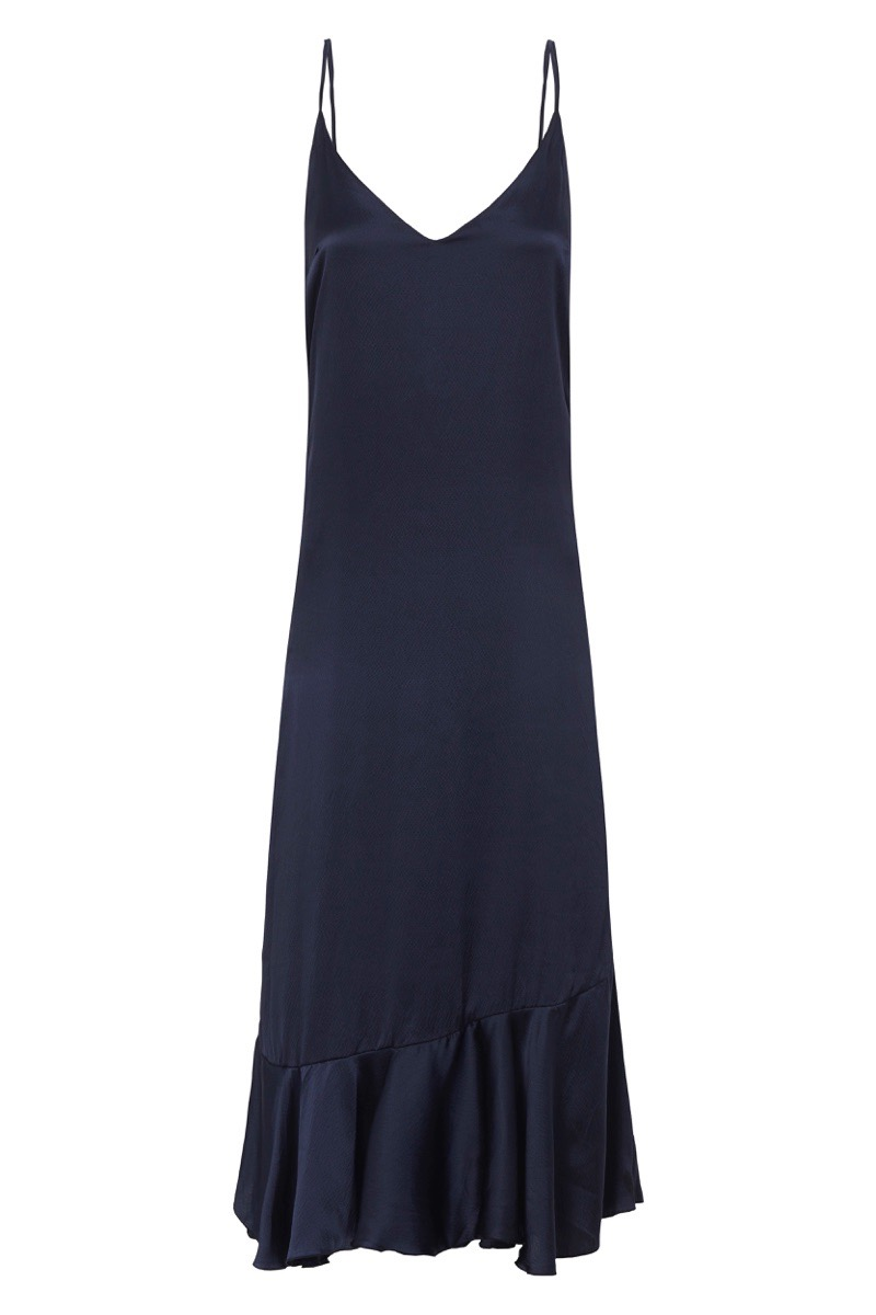 ISABELLE QUINN ESTELLE MIDI SLIP DRESS