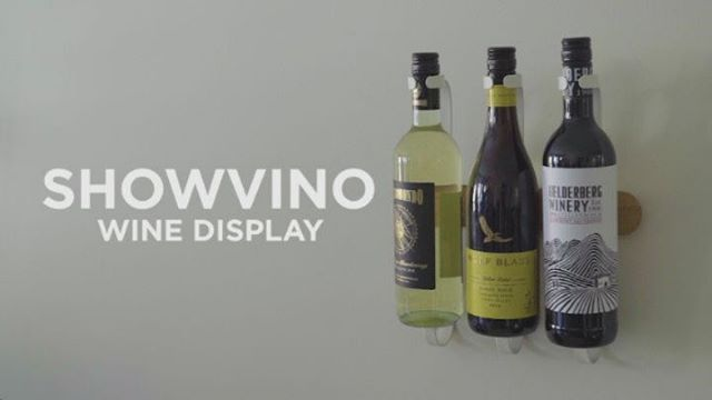 Want a more elevated way to display your wine? Introducing the Showvino. Showvino is a wine bottle display that also holds stemware. It's wall-mounted, giving you the opportunity to show off the beauty of your wine bottles and glasses while simultaneously storing them. Often times, wine bottles have beautiful labels that are works of art themselves, this, coupled with the beautiful shape of their bottles allows them to easily double as wall decor. Showvino's brackets are removable and can slide on its base, giving you the opportunity to adjust or remove the brackets in order to highlight certain bottles, or accommodate bottles and stemware of different sizes. Details Showvino has a warm beechwood base with a natural finish and stamped metal brackets in a crisp shade of white.  Designed by @d_green #Umbra #UmbraDesign