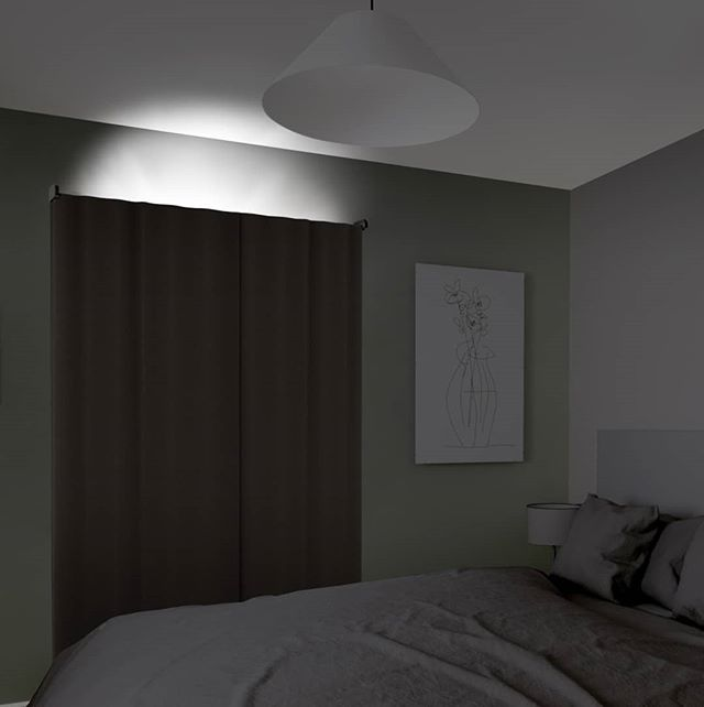 """Are you having trouble sleeping because of that little bit of daylight that manages to creep up over the top of your drapery rod? Attain that totally blacked-out room with this clever blackout solution that fits on top of your curtainrod! Easy to install, the Valance attach to the wall using EASY TAB™ adhesives which means no drilling is required for installation! (Swipe left to see the Valance in action)  Measures 4 ¼ x 54"""" (10.8cm x 137.2cm). #Umbra #UmbraDesign  Design by: @dcmailach & @snellchris"""