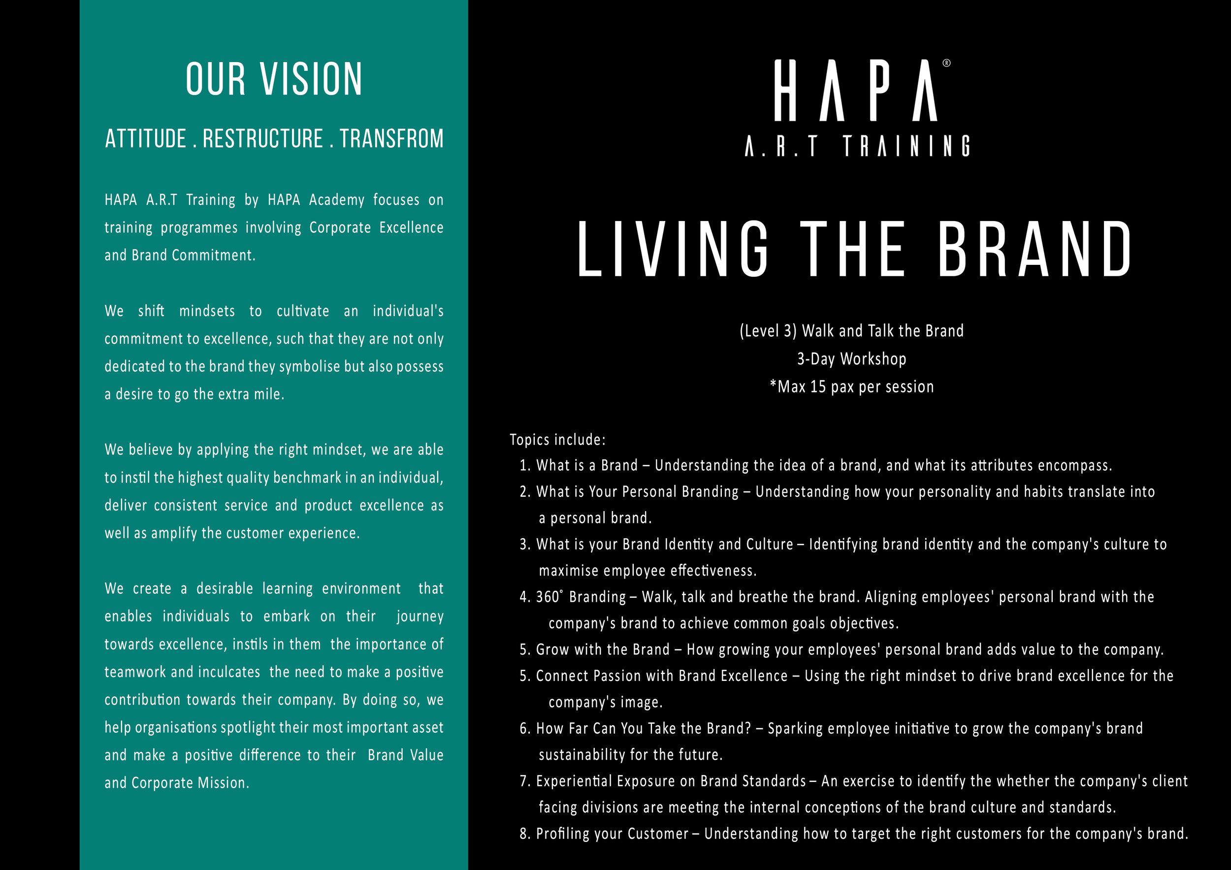 HAPA Academy - HAPA A.R.T TrainingLiving The Brand.jpg