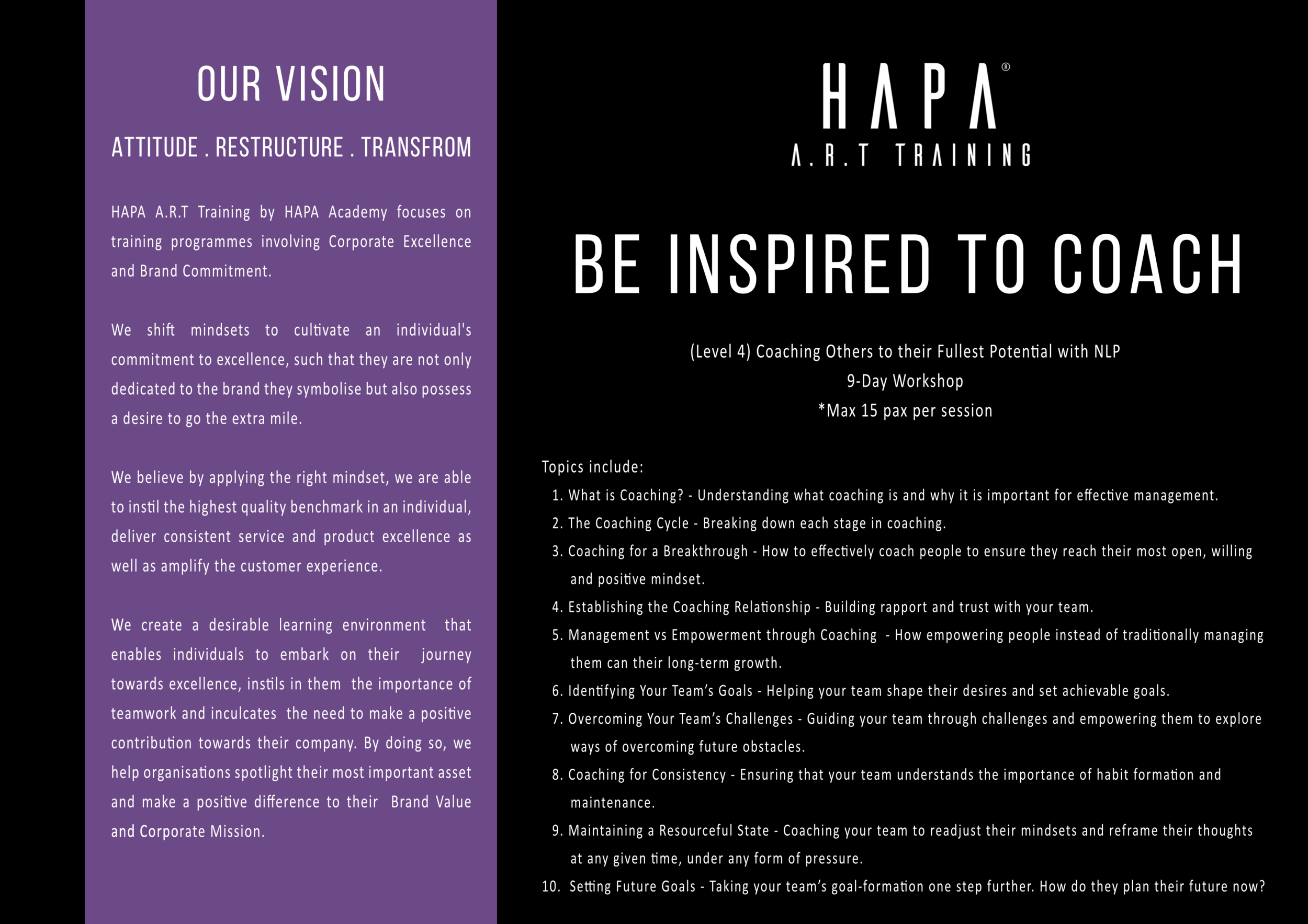 HAPA Academy - HAPA A.R.T Training - Be Inspired To Coach.png