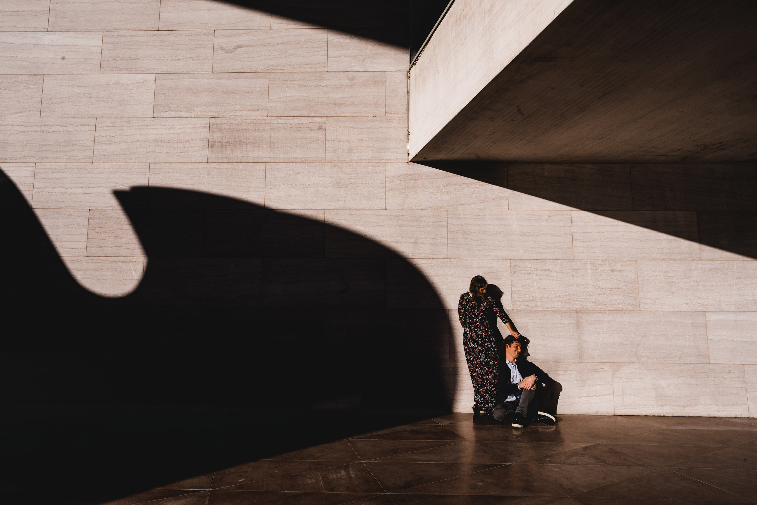 charlotte + dean - national gallery of art - east building, dc