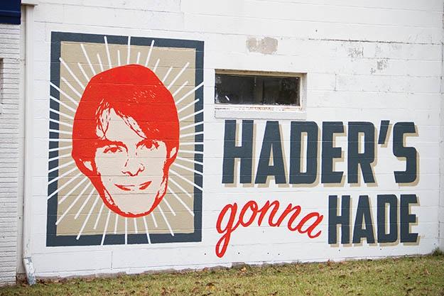 Hader's Gonna Hade Mural