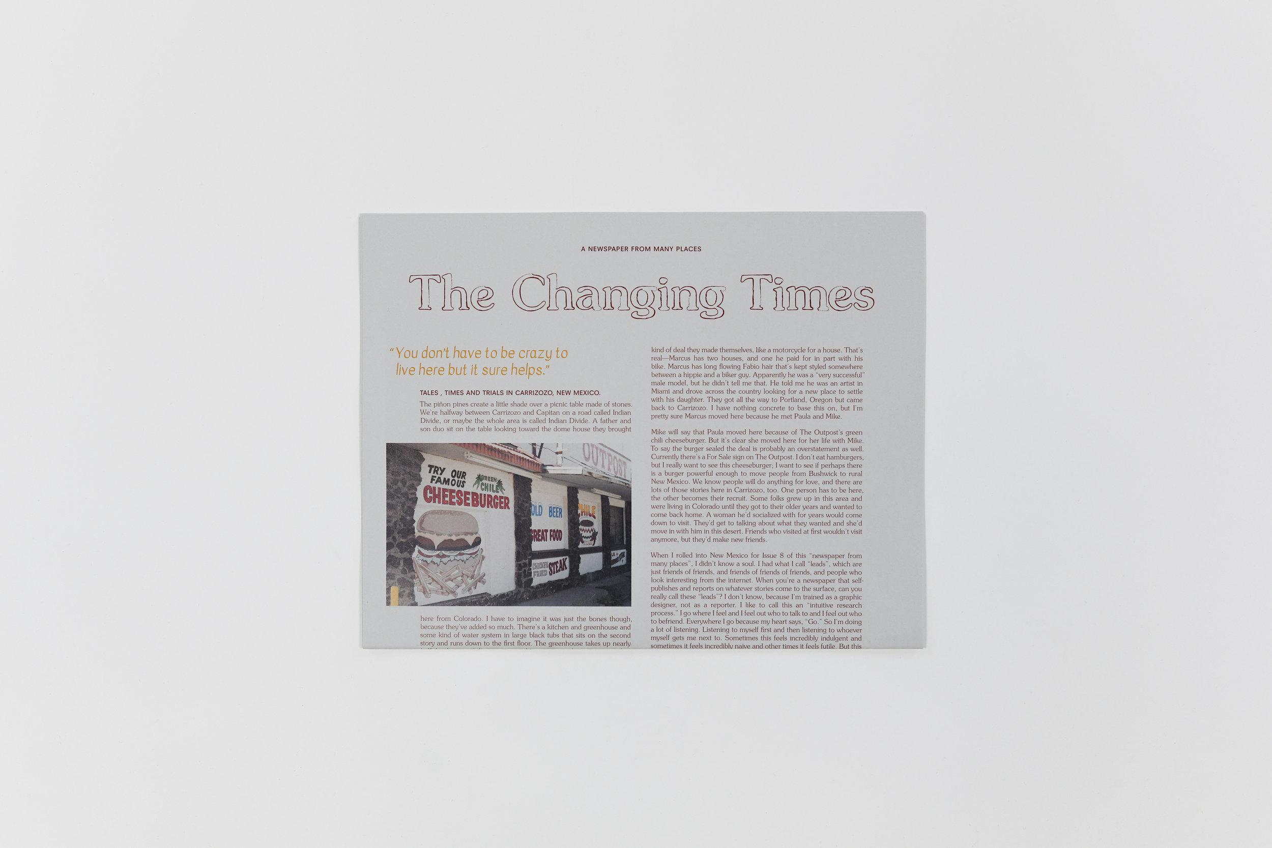 Issue 8: Carrizozo, New Mexico