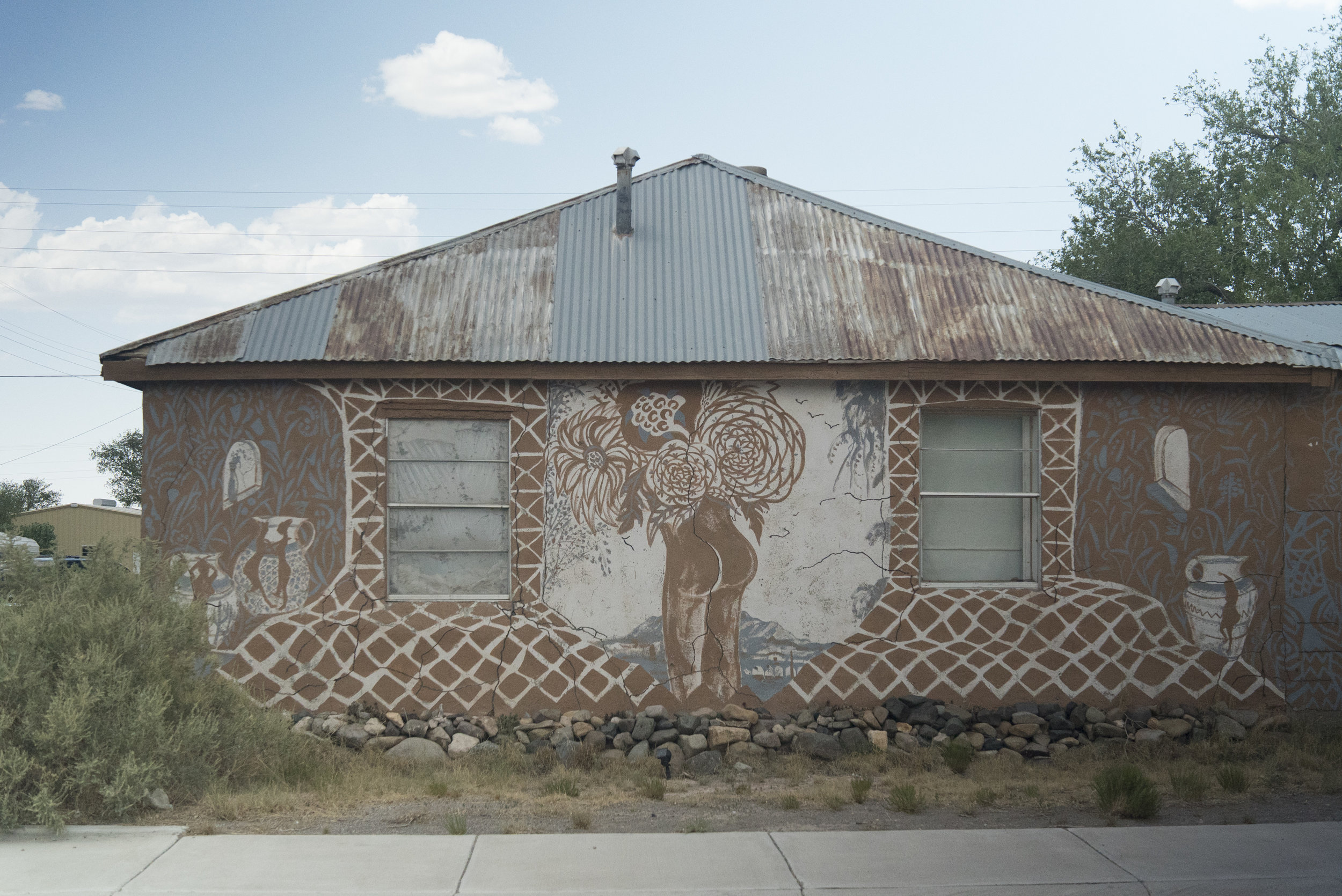 Mural, Paula Wilson Photo:  Aaron Lovejoy