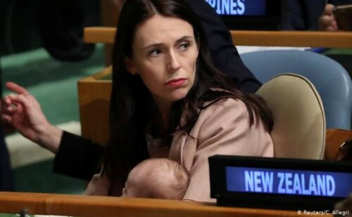 Jacinda Ardern at UN