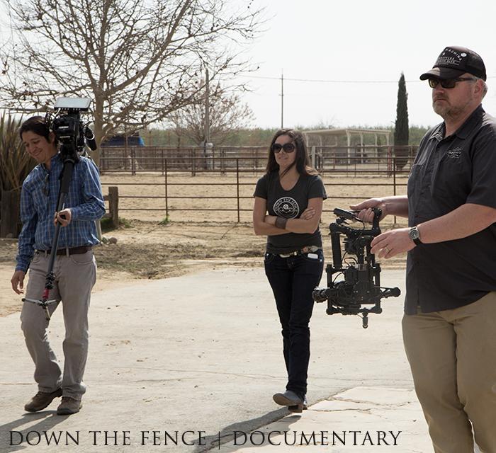 Fernando, Jaclyn, and Ben at Doug Williamson's ranch