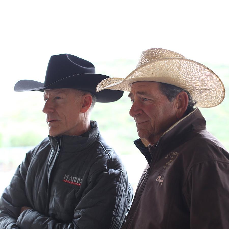 Lyle Lovett and Randy Paul