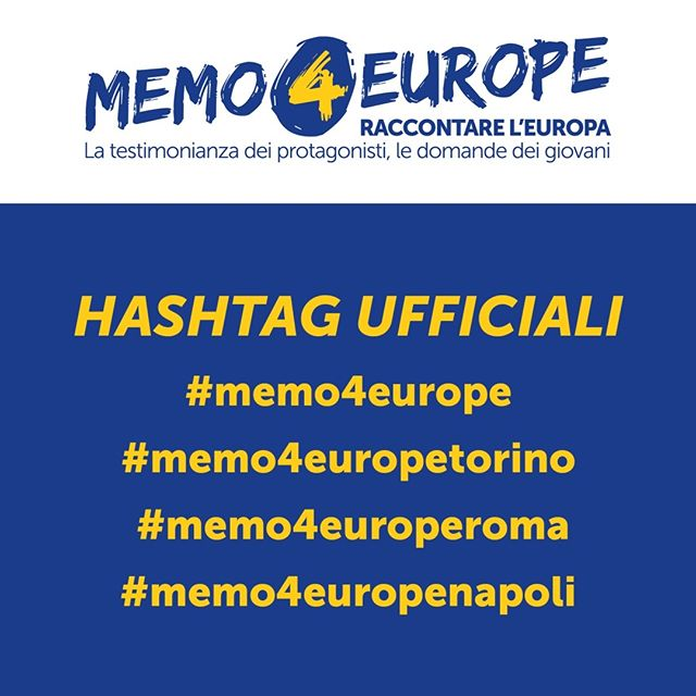 [ITA] Memo4europe - February 27, 2019 at 9:30 AM – 12:30 PM