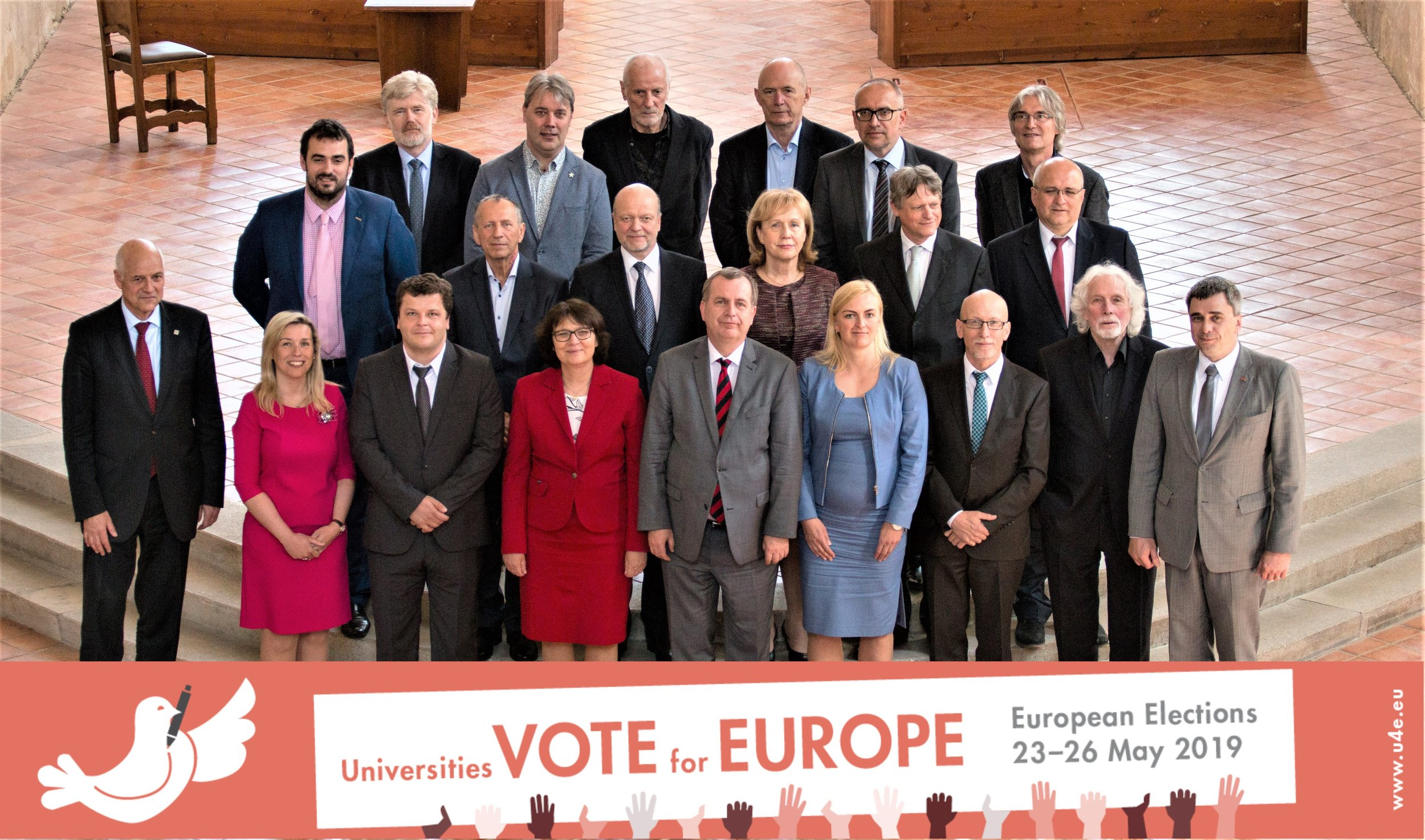 [CZ] STATEMENT OF THE CZECH RECTORS CONFERENCE ON THE EUROPEAN PARLIAMENT ELECTIONS - Jihlava, 25 April 2019