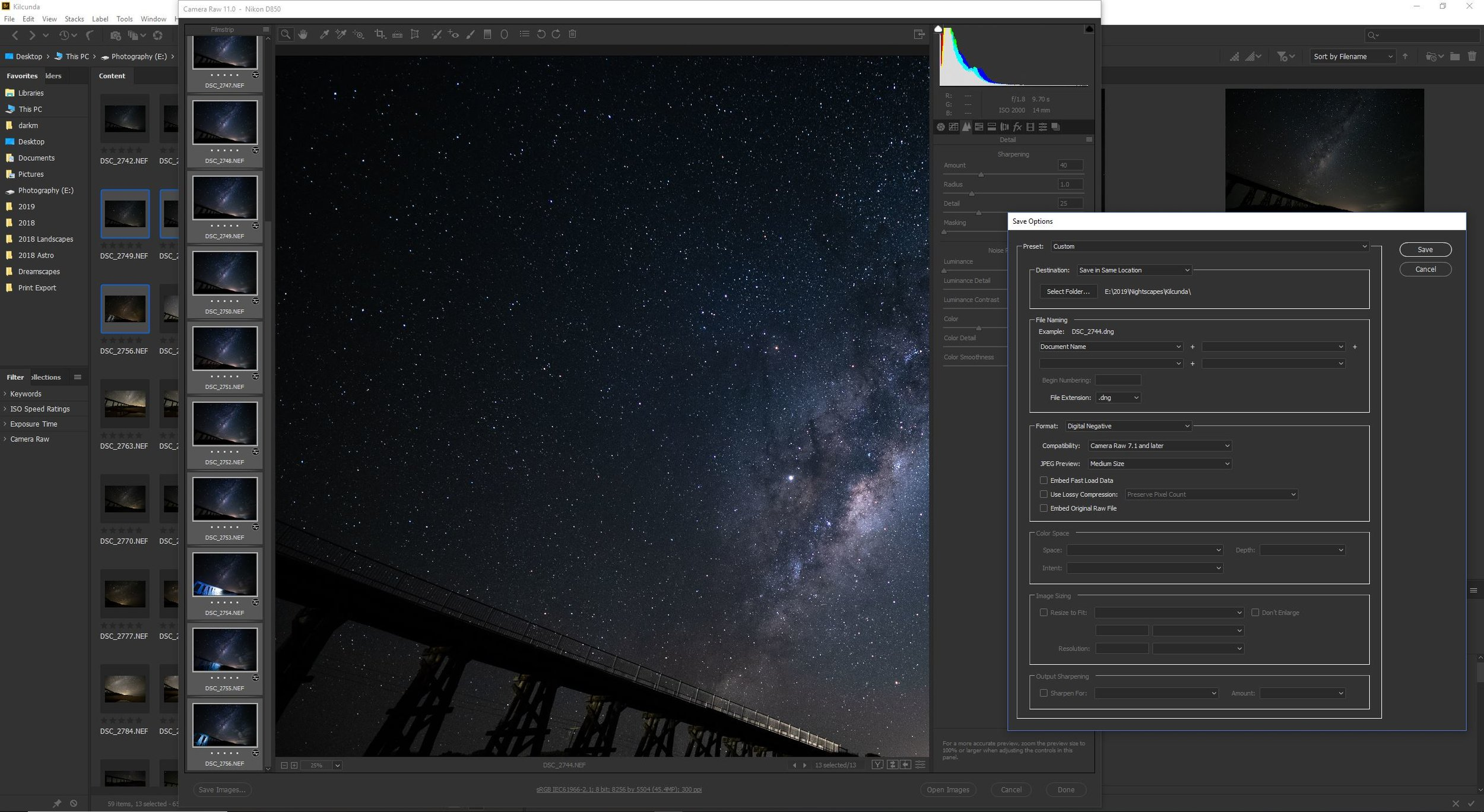 Star Stacking with Sequator — Rob Wengritzky Photography