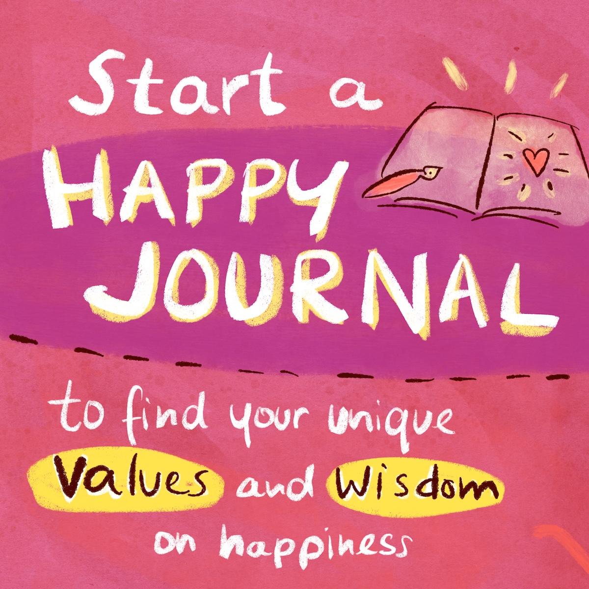 happy journal method