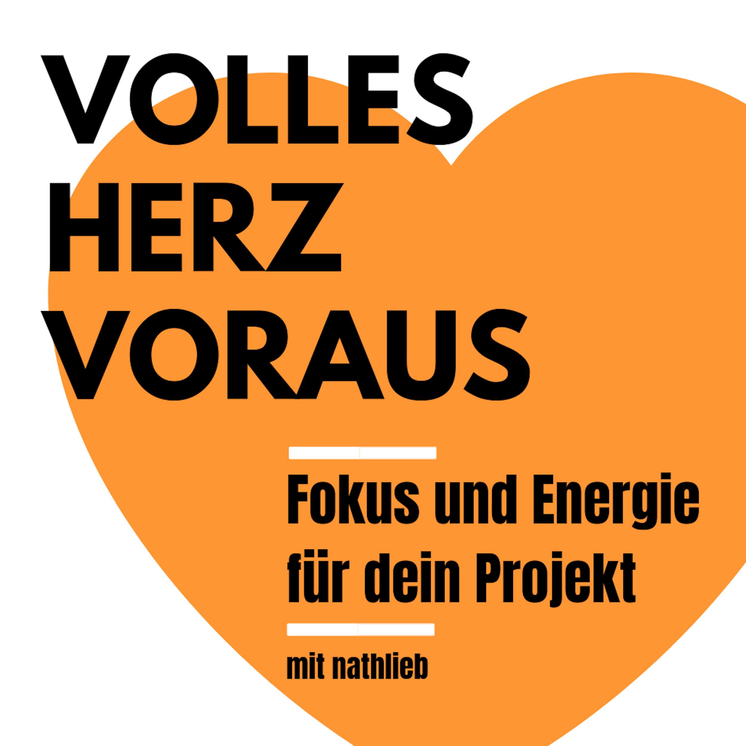 Volles Herz voraus Podcast Logo