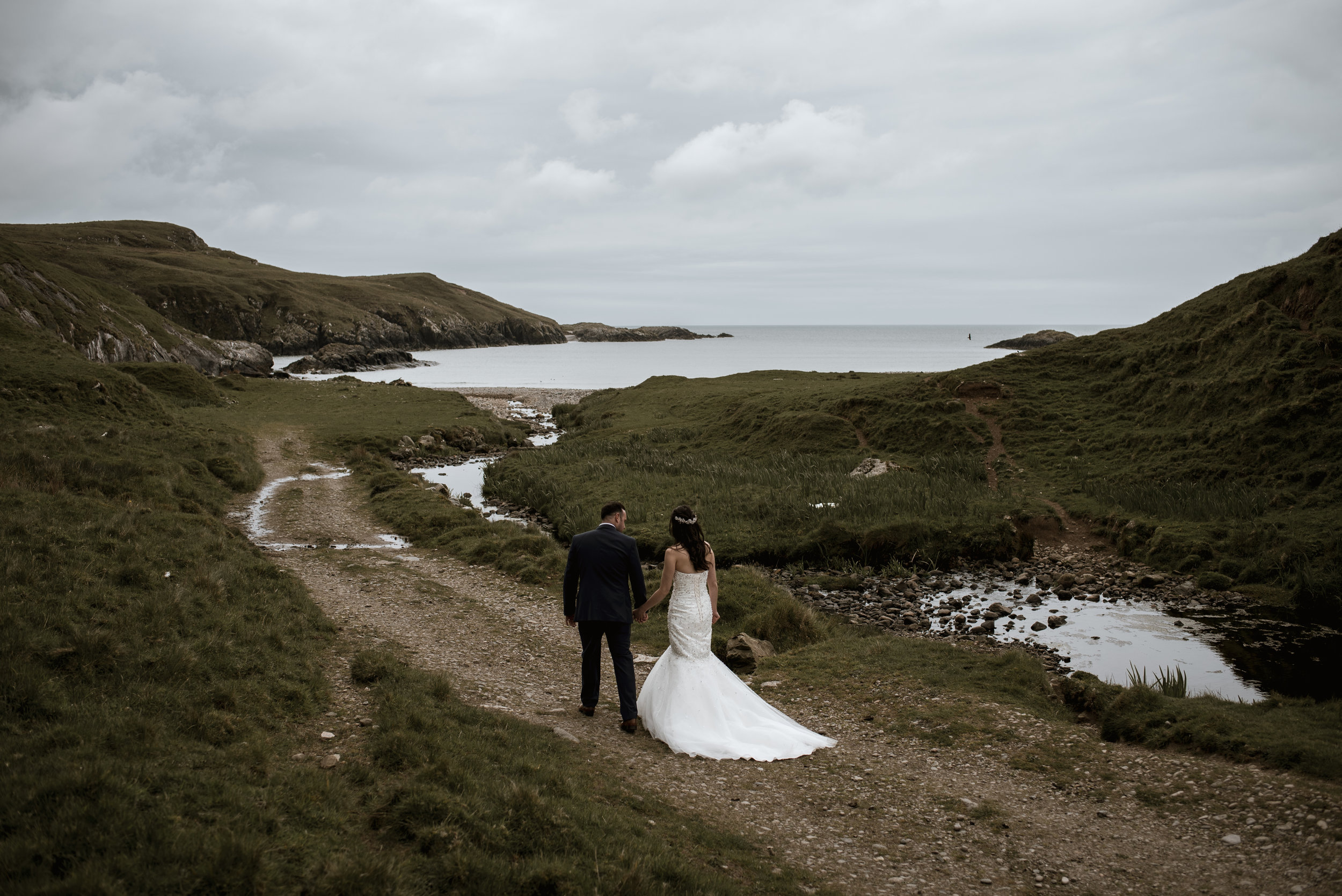 Evie and John - brides and bays, plus whisky and a wedding