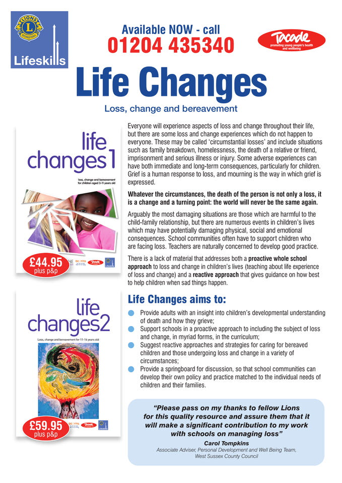 Life Changes 1 and 2