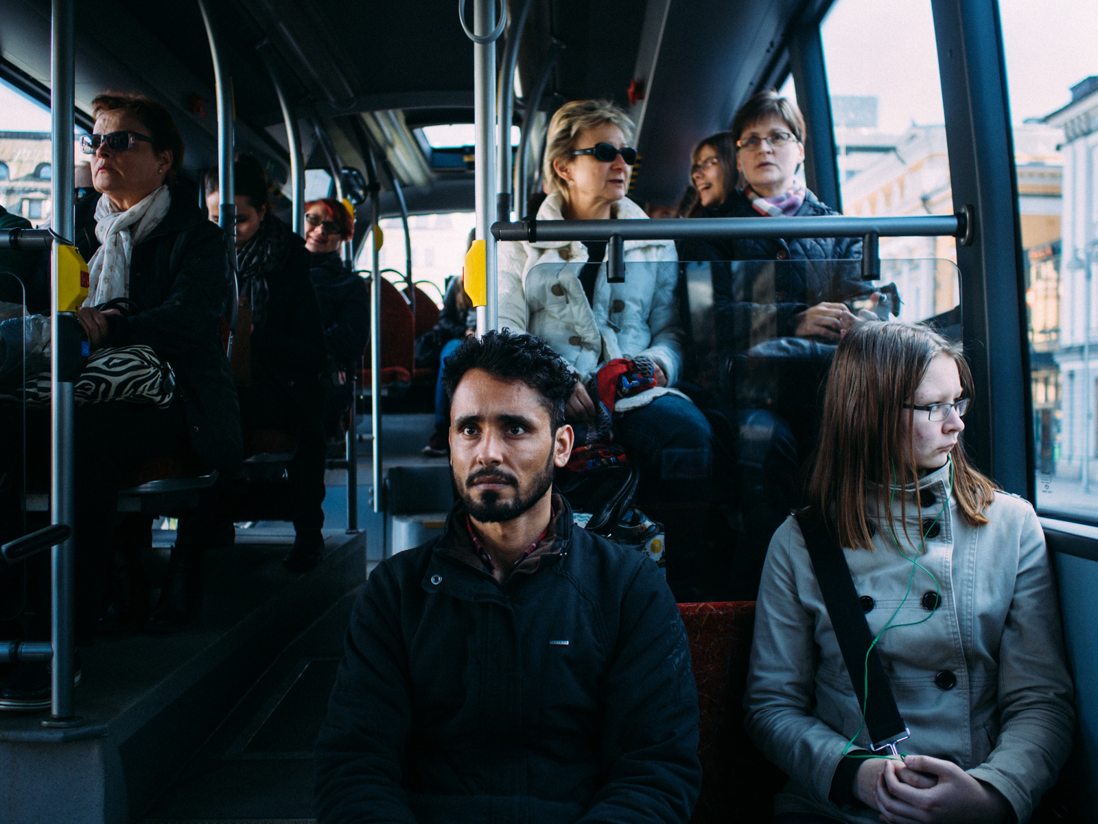 Outi goes to the city almost every day so If Ihab and Yousuf need to go to the center she gives them a lift. Other than that there are only two busses per day to reach the city of Turku: one at 6.40am and one at 4.25pm to come back.