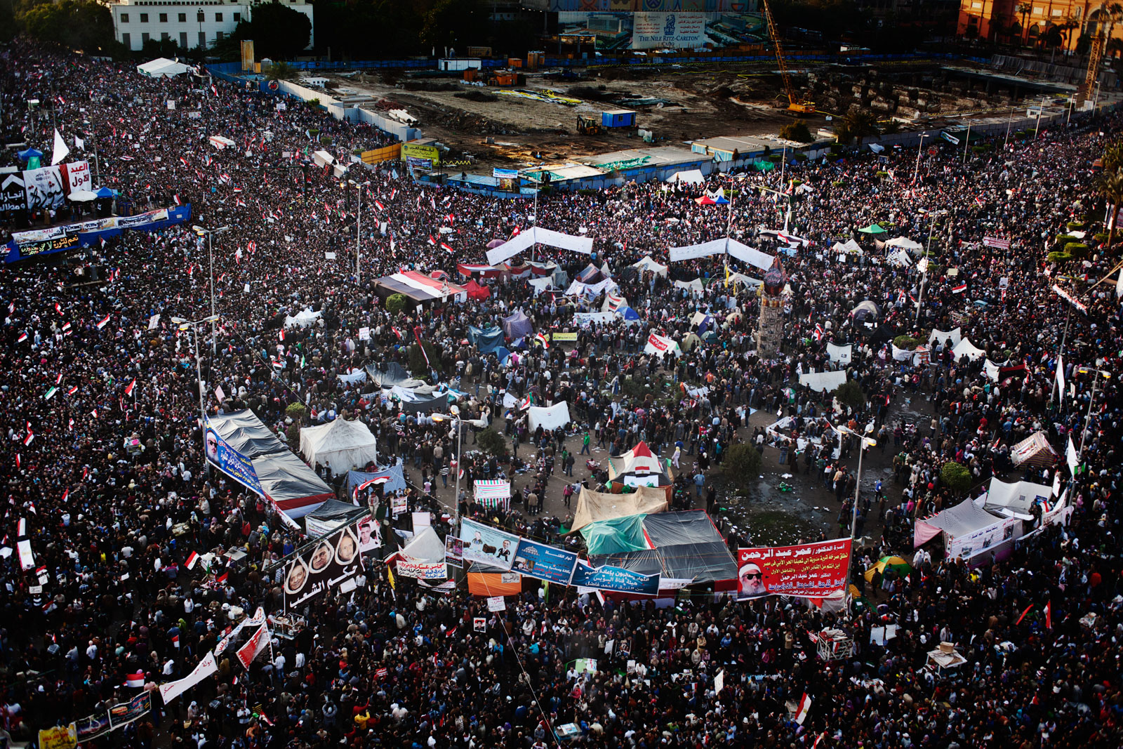 an egyptian revolution -