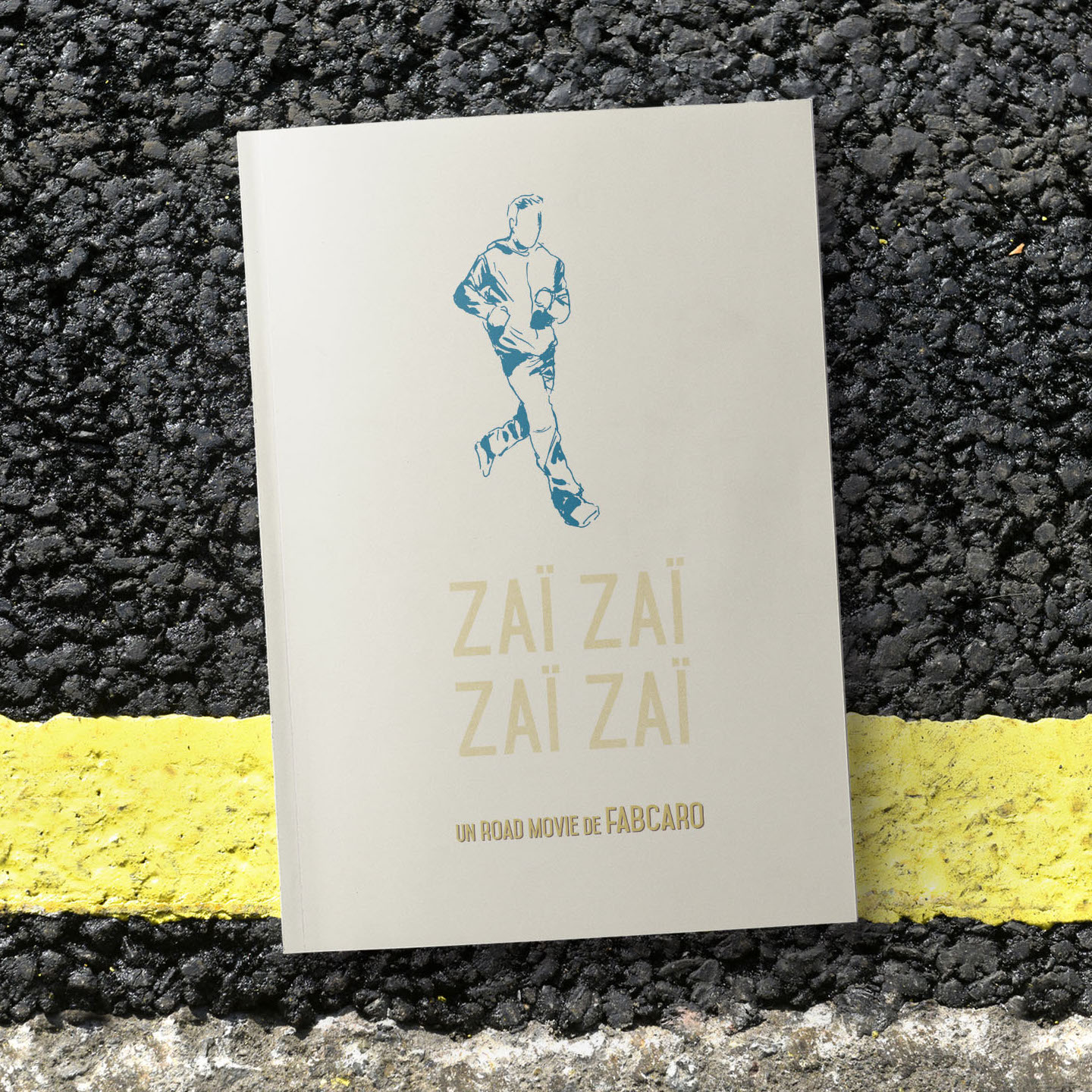Title:  Zaï Zaï Zaï Zaï, a Road Movie   Author: Fabcaro  Year of publication: 2016  Pages: 72  Publisher: 6 Pieds Sous Terre (France)  Format/Print: 16.7x22.5cm/Duotone  World English rights available.