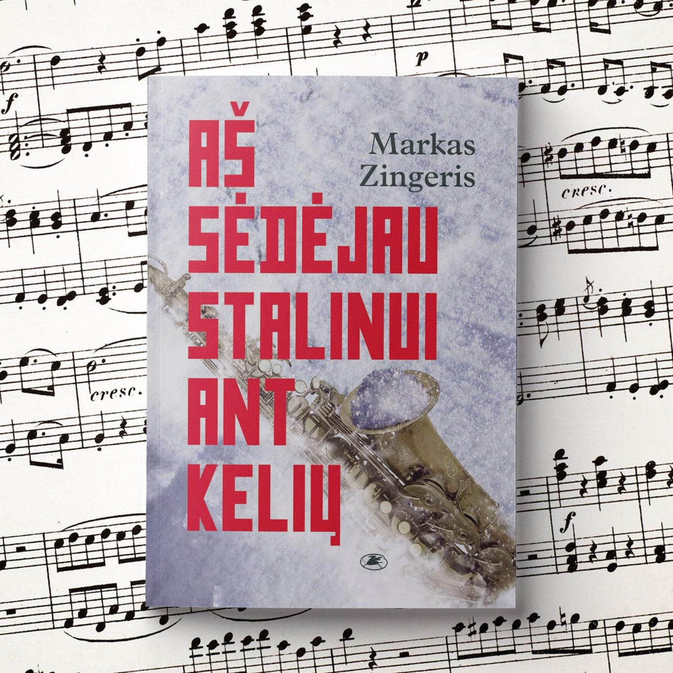 Title:  I Sat on Stalin's Lap   Author: Markas Zingeris  Year of publication: 2017  Pages: 424  Publisher: Lietuvos rašytojų sąjungos leidykla (Lithuania)  World English rights available.