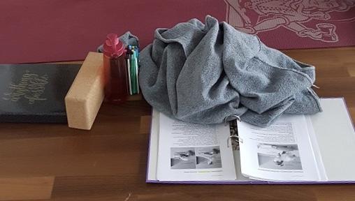 Kursunterlagen und Decke